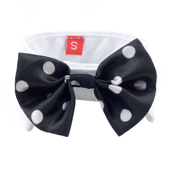Fashion Lovely Dog Puppy Kitten Pet Toy Bow Tie Personalized Necktie Collar Clothes S M L 2018