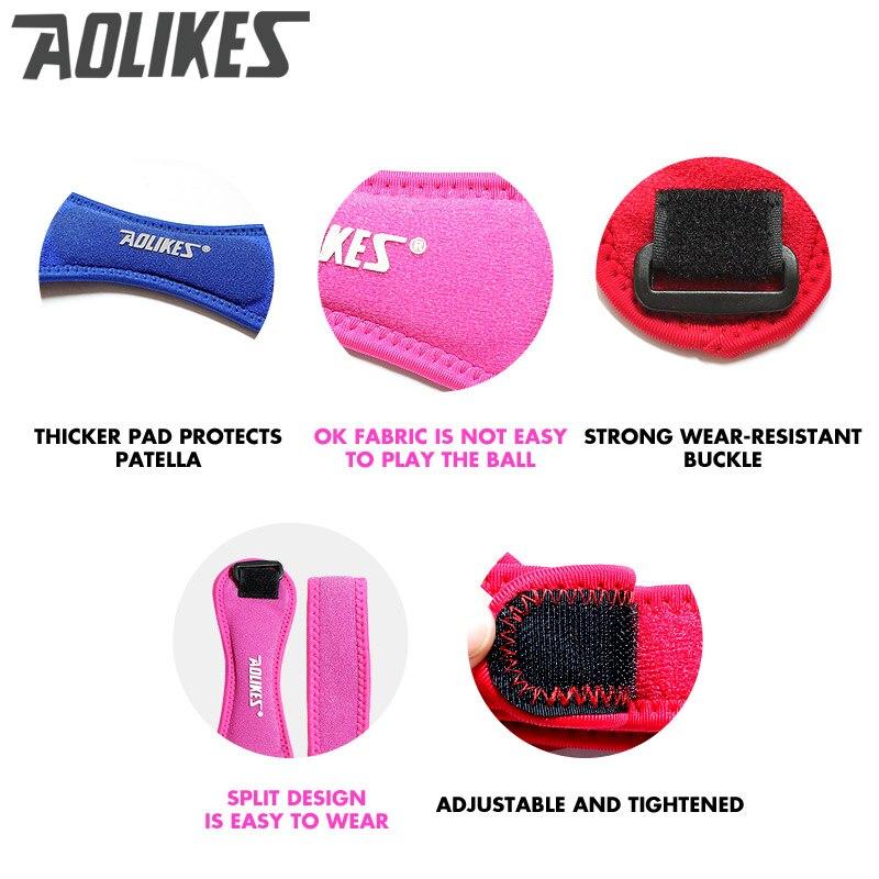 AOLIKES 1PCS Ρυθμιζόμενο γόνατο - Αθλητικά είδη και αξεσουάρ - Φωτογραφία 6