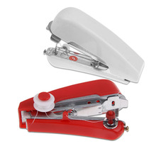 Mini Useful Portable Needlework Cordless Hand Held Clothes Fabrics Sewing Machine Home Travel Stitcher Serger