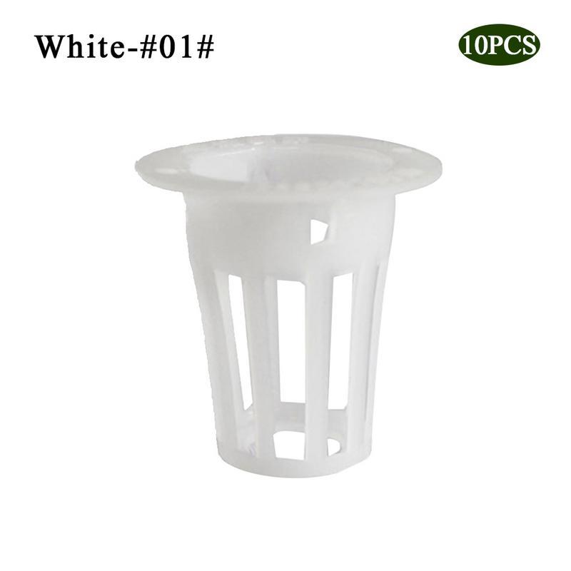 10 шт. сверхмощный гидропонный сетчатый горшок чистая чашка корзина гидропоники аэропоники растение сад клон - Цвет: 6