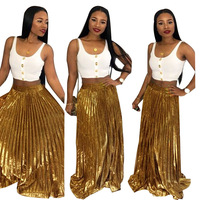 skirt DASHIKI african skirt for women africa casual skirts HIGH QUALITY gold print plus size africaine long robe
