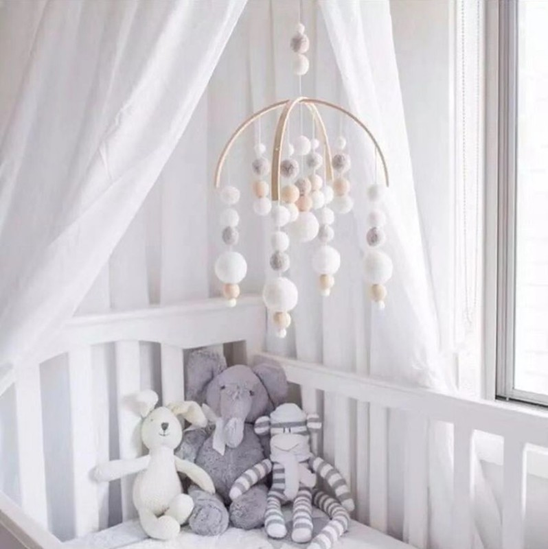 Nordic-Style-Wooden-Baby-Mobile-Toys-Newbron-Crib-Felt-Ball-Cot-Mobiles-Bed-Bell-Hanging-Toys