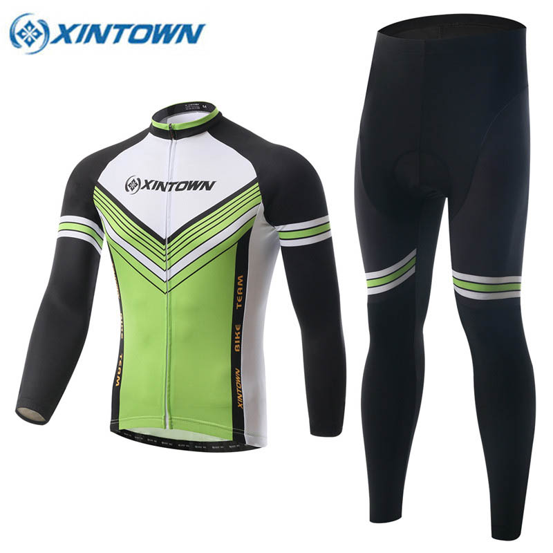 New Cycling Clothing 2017 Fleece Thermal Ropa Ciclismo Invierno Bicycle MTB Winter Green Cycling Jersey Long Sleeve Sportswear black thermal fleece cycling clothing winter fleece long adequate quality cycling jersey bicycle clothing cc5081