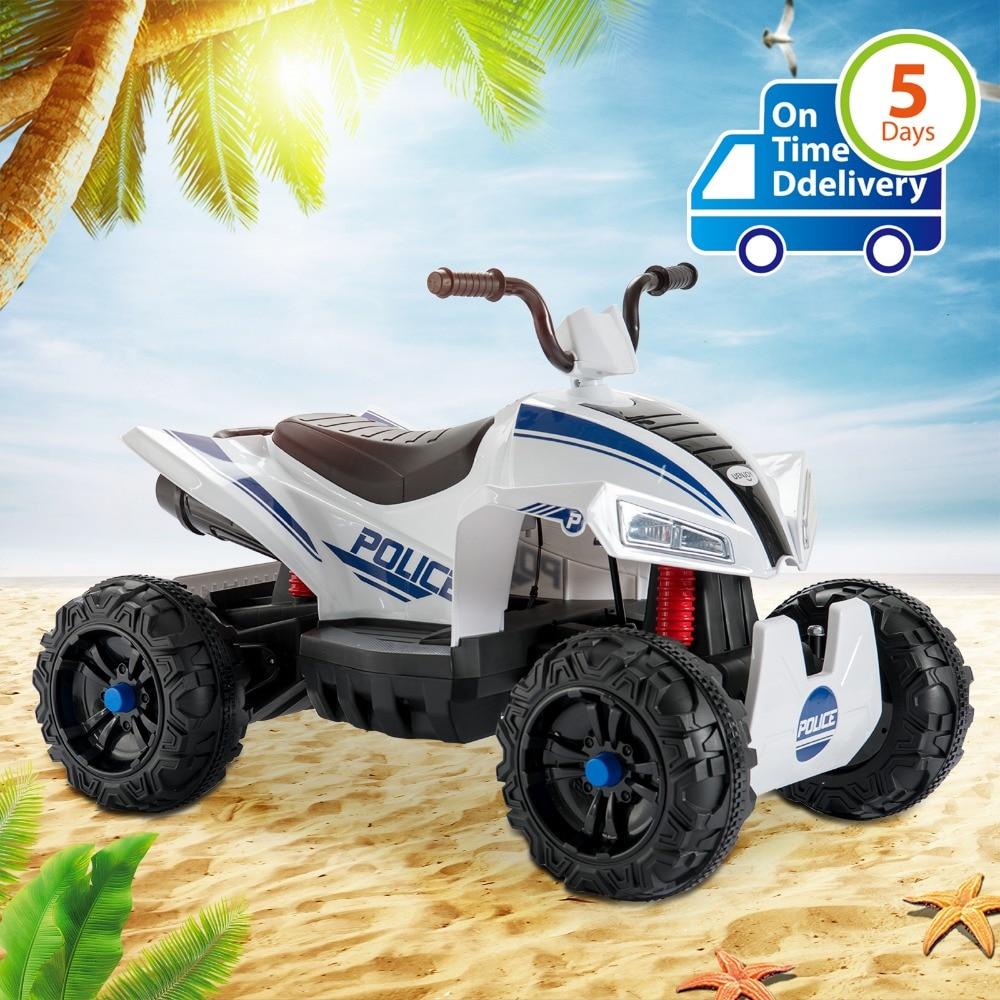 Uenjoy ATV для детей 4 Wheeler Quad 12 В батарея мощность