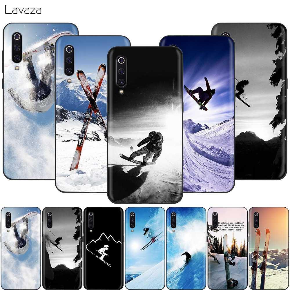 Lavaza スキー雪スノーボードスキーケース xiaomi 9T プロ CC9 A3 Redmi K20 7A Huawei 社の名誉 20 9X P20 Lite ノヴァ 5i Y9