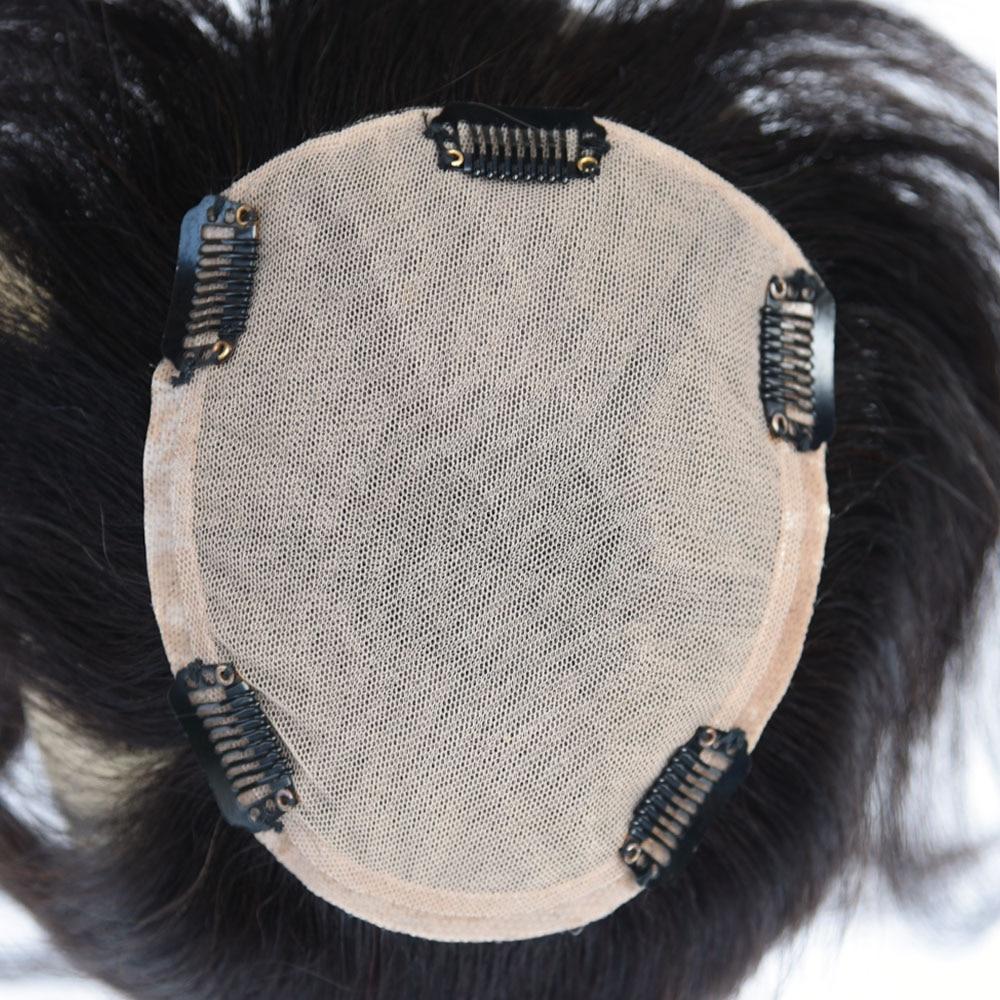 Originea Cheveux Humains pour les Femmes Net Taille De Base 12*14 cm Cheveux Longueur 20 cm 8 pouce 100% perruque De Cheveux humains Remplacement Système