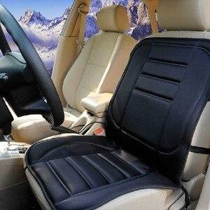 Image 2 - Чехол для автомобильного сиденья с подогревом 12 В, электрическая зимняя подушка для автомобильного сиденья, подогреватель сиденья