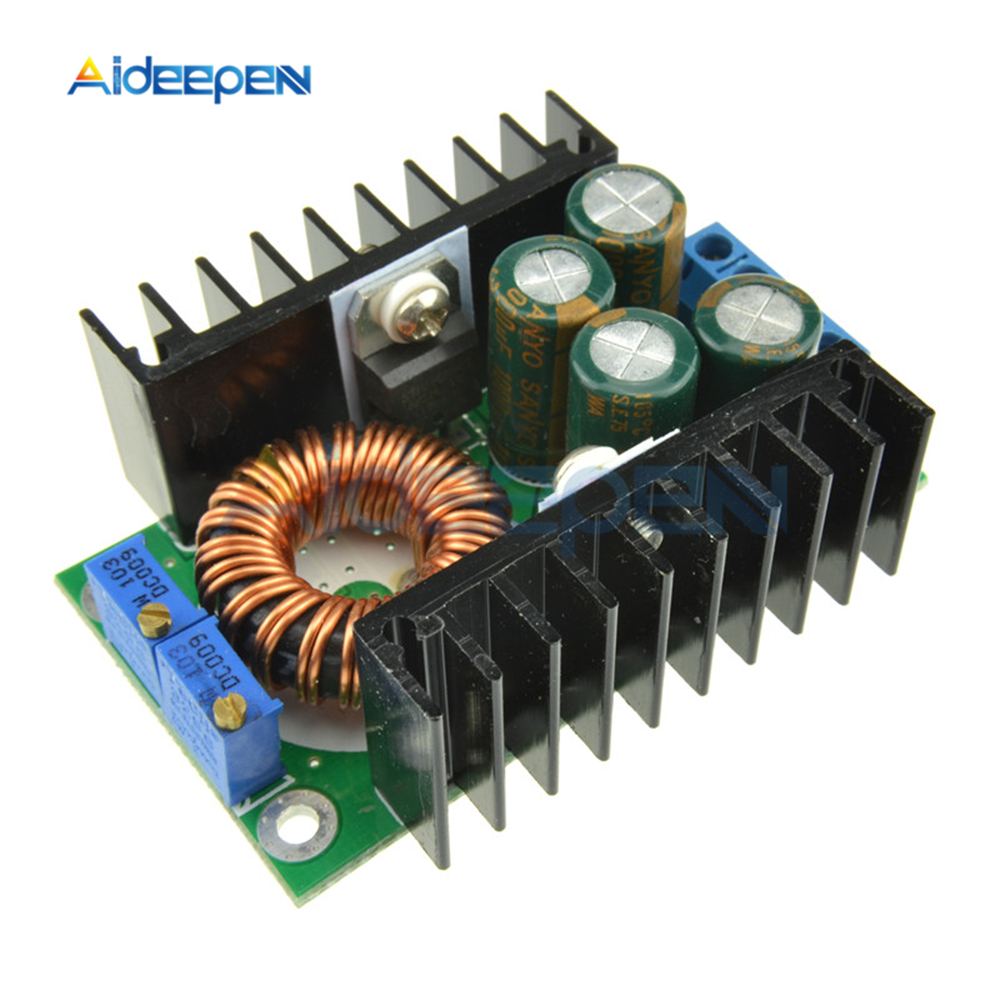 300W XL4016 DC-DC Step Down Buck Converter Max 9A 5-40V To 1.2-35V Adjustable Power Supply Module LED Driver For Arduino