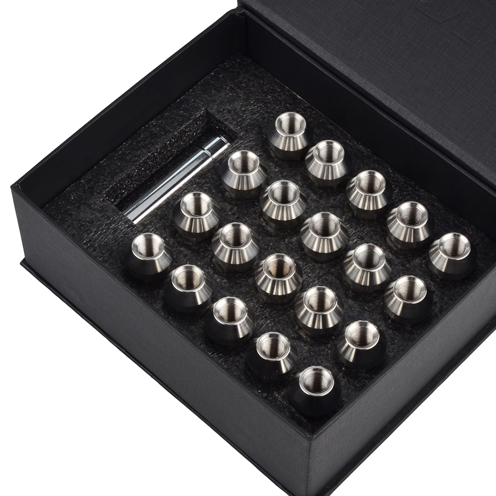 Precision 16 x Chrome Alloy Wheel Nuts for Ṿauxhall Astra PN.SFP-16NM10258