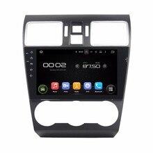 """Klyde 2 DIN 9 """"Android 7.1 Автомобильный Мультимедийный Плеер для Subaru WRX 2016-2017 Радио стерео 4 ядра без DVD Audio 1024*600"""