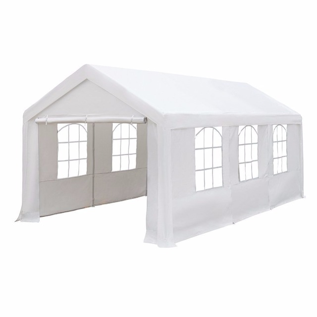 Abba Patio 10x20 ft Heavy Duty Outdoor Canopy Carport Party Tent Gazebo with Windows White  sc 1 st  AliExpress.com & Abba Patio 10x20 ft Heavy Duty Outdoor Canopy Carport Party Tent ...