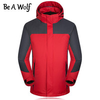 Be A Wolf Climbing Hiking Jacket Men Women Outdoor Sport Camping Skiing Hunting Clothing Fishing Winter