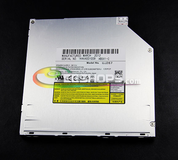 Laptop 9.5mm SATA 6X 3D Blu-ray Burner for Panasonic UJ-267 UJ267 Dual Layer BD-RE DL 4X BDXL Writer Slot-in Optical Drive Case best for sony bd 5850h 6x 3d blu ray burner dual layer bd re dl 4x bdxl blue ray writer laptop 12 7mm sata slot in drive case
