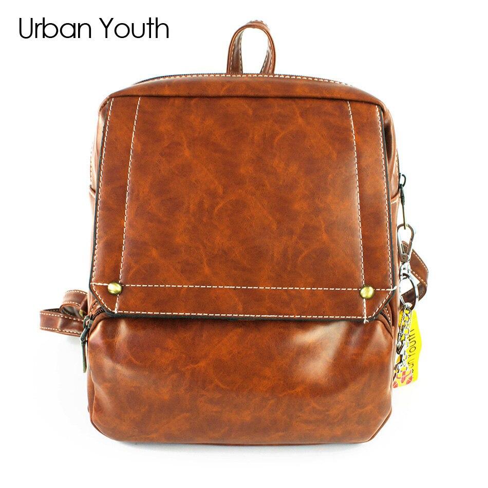 Urban Youth High Quality Women s Backpacks Anti thief Travel Bags Female Black Dailypack School Ladies