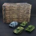 4D Montado Tanque de Plástico Kits 1: 71 Escala Modelo de Montagem do Enigma Brinquedos Militares Para Crianças Frete Grátis