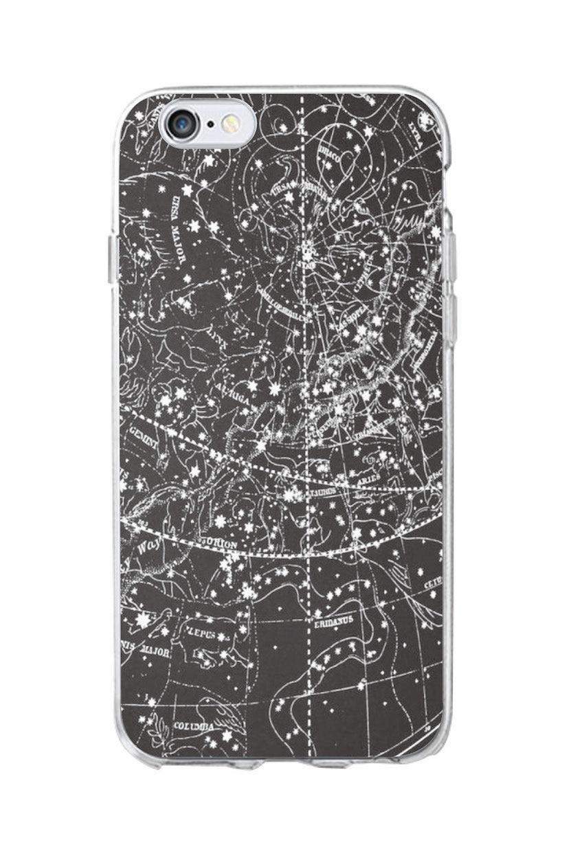 Rum i rummet Planet rumskibskonstellation Stjerner Moon Soft Clear - Mobiltelefon tilbehør og reparation dele - Foto 5
