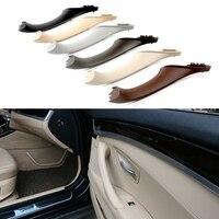 YENI Orijinal BMW 5 serisi Için F10 F11 gri Bej Siyah Araba sol sağ iç Iç Kolu Iç Kapı Paneli çekme ayar kapağı