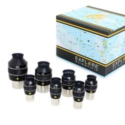 Esplora Scientifico Estrema Ultra-Wide Oculare 82 gradi Impermeabile 1.25 pollici 4.7mm 6.7mm 8.8mm 11mm 14mm 2 inch 18mm 24mm 30mm