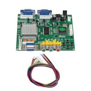GBS8220 Adaptador RGBS para VGA Dupla Saída CGA/EGA/VGA/Componente YUV Entrada de Sinal HD Conversor De Vídeo placa