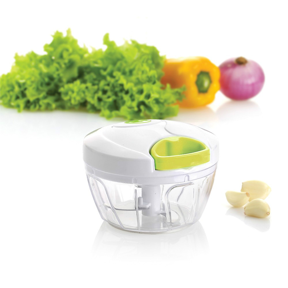 Multi functional Manual Food Chopper Kitchen Vegetable Chopper Tool for Fruits Onions Garlics Salad Coleslaw Puree