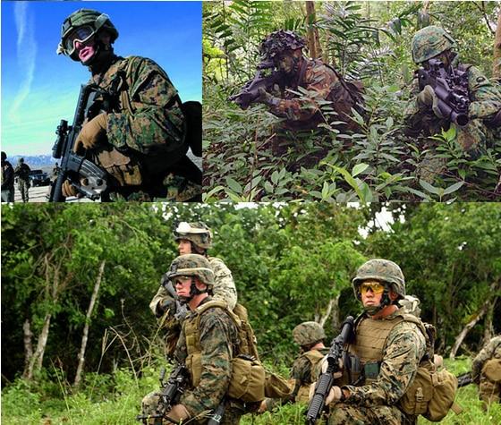 Livraison gratuite 2016 Armée Extérieure Hommes Tactique Camouflage Uniforme de Combat de L'armée Costume Militaire Woodland Camouflage Veste + Pantalon