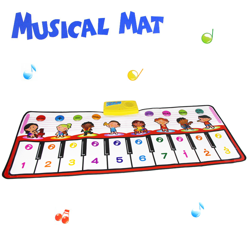 hy2305 baby toys musical play mat 100x40cm big size music. Black Bedroom Furniture Sets. Home Design Ideas