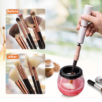 Makeup Brush Cleaner Convenient Silicone Make Up Brushes Cleanser Cleaning Tool Machine