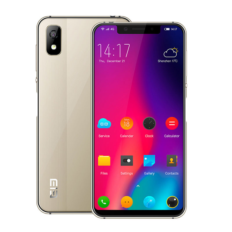 Elephone A4 MT6739 Quad Core 5.85 Inch 19:9 HD+Screen Android 8.1 Smartphone 3GB RAM 16GB ROM 4G Unlock Fingerprint Mobile Phone