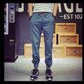 2016 nueva marca de alta calidad ropa de verano para hombre joggers pantalones flojos pantalones pantalones rectos delgados Ocasionales para los hombres