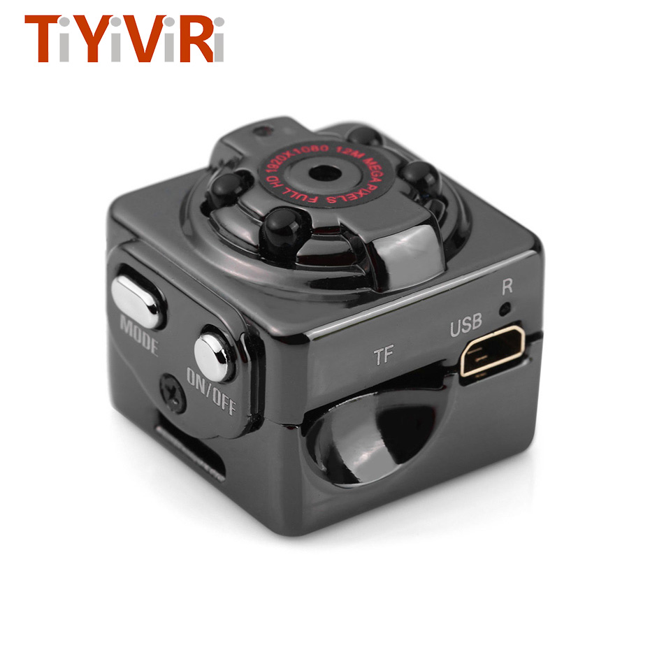 Mini cámara SQ8 HD 1080 p grabadora HD DV Noche del Sensor de movimiento visión Micro Cam DV deportes inalámbrica videocámara grabadora