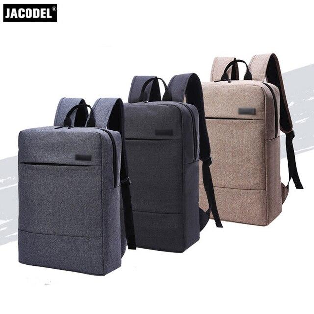 Jacodel Casual Laptop School Bag 17 Inch Computer For Funda Portatil Macbook