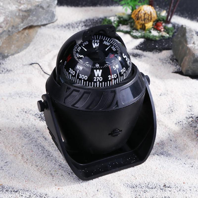 Multi-function Electronic Vehicle Car Sea Marine Boat Compass Navigation Outdoor