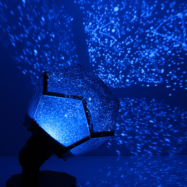 Constellation Projector Star Astro Sky Rotate Night Light Lamp Led Diy Starry Home Decor Christmas Gift