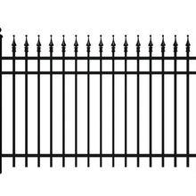 Виниловые панели для ограждений   черный цепной забор   забор ворота   садовый забор