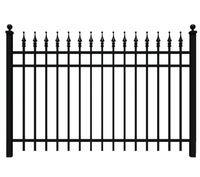 Vinyl fence panels | black chain link fence | fence gate | garden fence