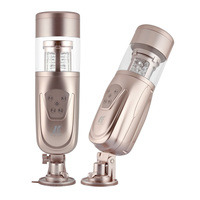 New Easy Love Telescopic Lover 2 Automatic Sex Machine, Rotating and Retractable Electric Male Masturbators, Sex Toys for Men