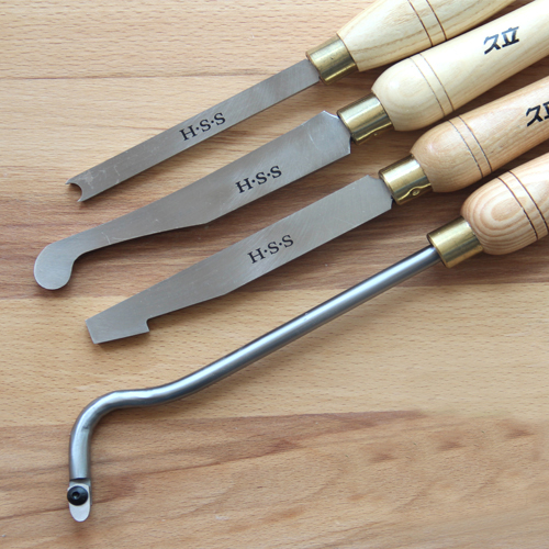 A2008 A2020 A2022 A2026 Woodturning Hollowing Tools, HSS Woodworking Gouges