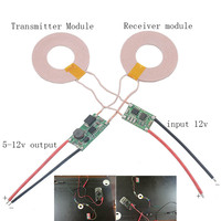 2pcs Lot Large Current Wireless Power Supply Module Transmitter Receiver Charging Coil 5V 2A For Mobile