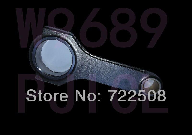 for M54 S54 forged 4340 billet connecting rod Stahlpleuel mit H Schaft bielle biella biela free shipping Quality warranty