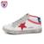 M. GENERAL Mujeres Invierno Cálido Casual Retro Zapatos de Mujer Plataforma Cómoda Transpirable de Alta Superior Zapatos Femeninos de Encaje zapatos #0161