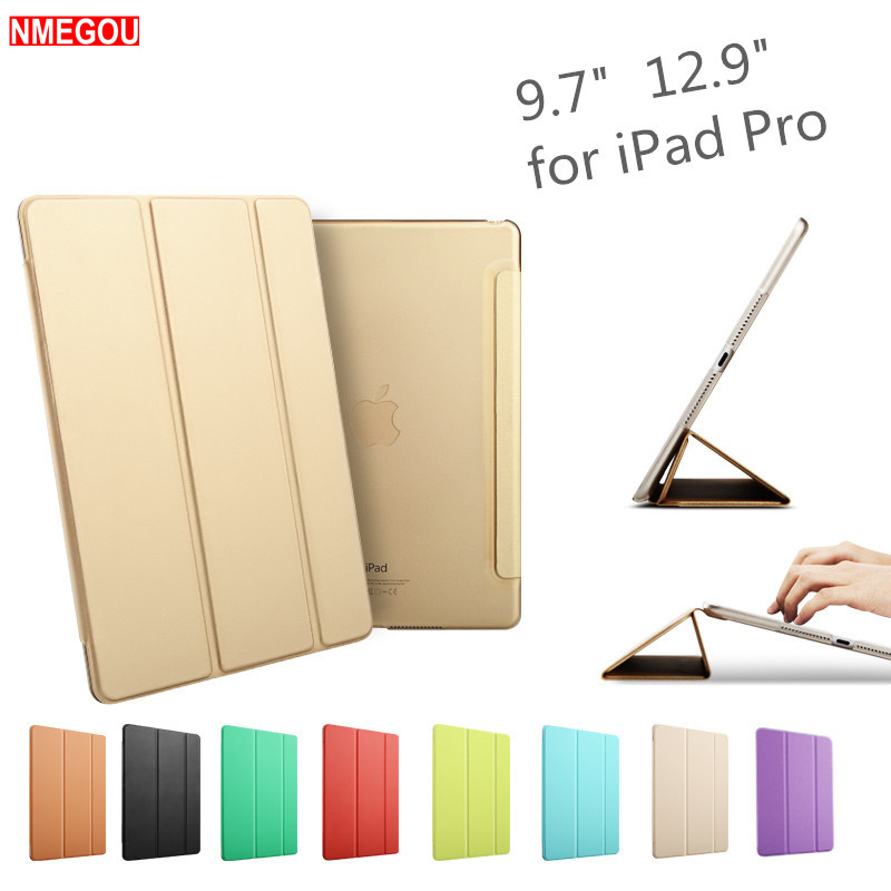 Luxury Ultra Slim Magnetic Smart Flip Stand PU Leather Cover for Apple Ipad Pro 9.7 / 12.9 I Pad Pro 9.7 12.9 Inch Tablet CaseLuxury Ultra Slim Magnetic Smart Flip Stand PU Leather Cover for Apple Ipad Pro 9.7 / 12.9 I Pad Pro 9.7 12.9 Inch Tablet Case