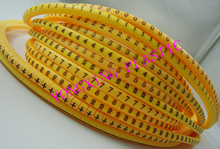 1200pcs/box EC-0 0.75mm2 12 different number  0123456789+- cable marker yellow color set