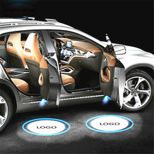 JingXiangFeng Welcome Light Car Door Courtesy Ghost Shadow LOGO Projector Laser For Land Rover Discovery jurus 12v led door courtesy light with car logo for chrysler for ssangyong for abarth lamp laser projector ghost shadow welcome