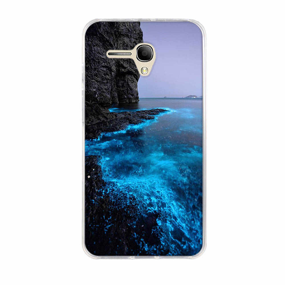 Case For Alcatel Touch POP 3 5.5'' Cover Soft Silicone For Alcatel POP3 5.5''5025E 5025G 5025X 5025D 5025N Phone Cases Fun