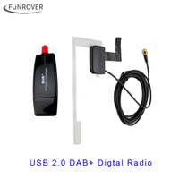 2017 Europe Universal USB Cable DAB Antenna Usb Dongle For Android Car Dvd Player DAB Antenna