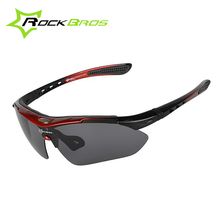RockBros Professional Polarized Cycling Eyewear MTB Road Bike Goggles Outdoor Sport TR90 Bicycle Glasses Sunglasses UV400