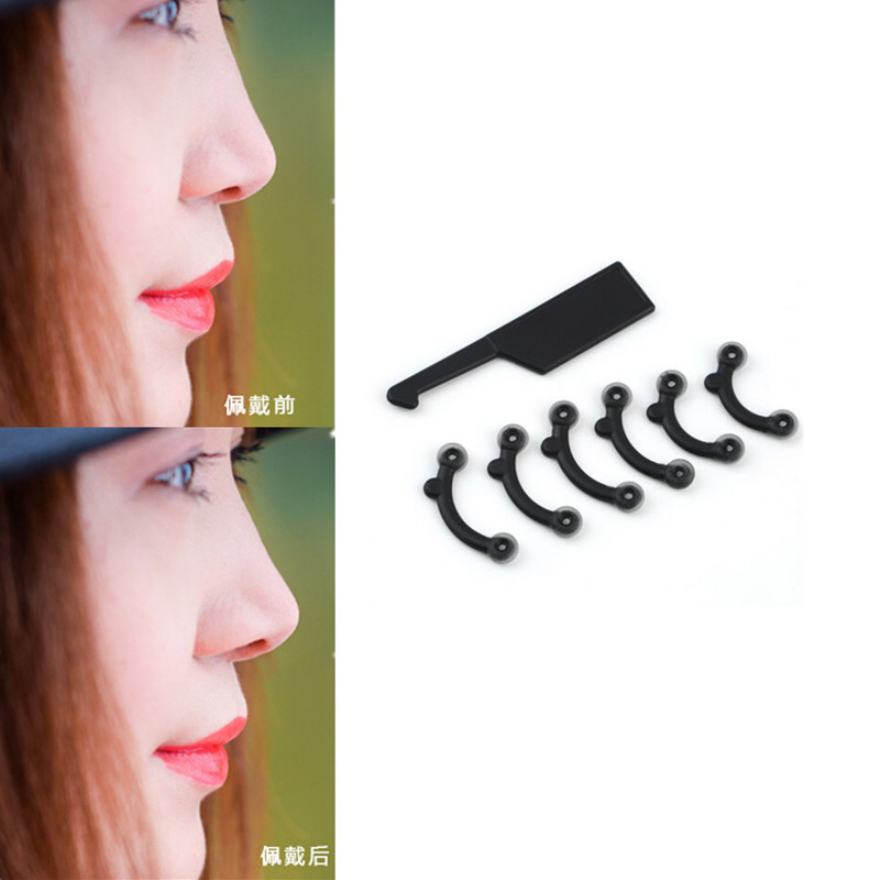 NEW 3 Size for 1 Set Nose Up Lifting Shaping Clip Secret Nose Clipper Shaper Beauty Tool No Pain BO