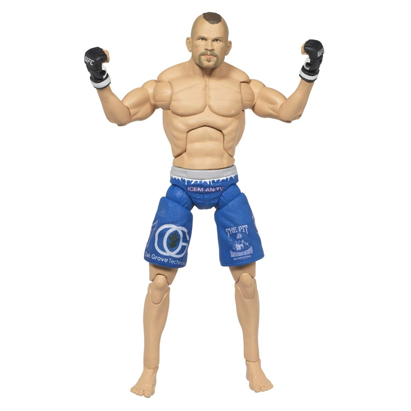 Wrestling Wrestler Chuck Liddell Ufc Action Figure Toy Doll Collection Model