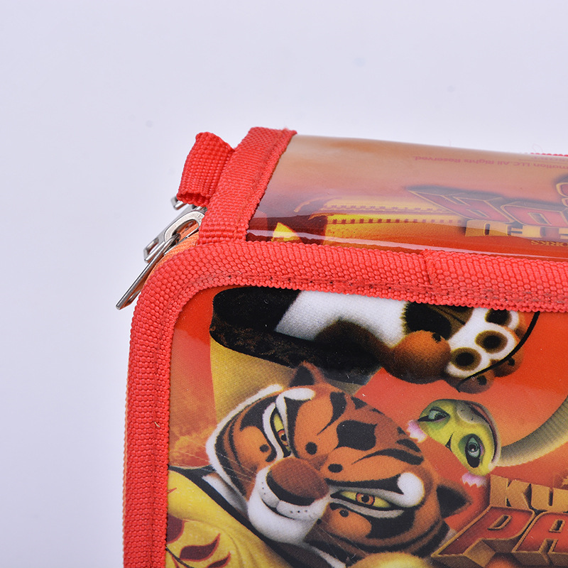 Animal Pencil Case 36 Holes Wrap Roll Up Pencil Pen Bag Holder Case Storage Pouch kungfu Panda Portable School Office Supplies in Pencil Bags from Office School Supplies