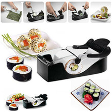 Newest DIY Sushi Roller Cutter Perfect Machine Roll Magic Rice Mold Maker Kitchen Accessories Tools Gadgets free shipping